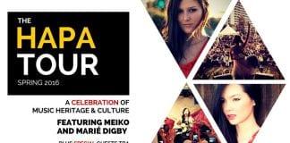 hapa tour poster image
