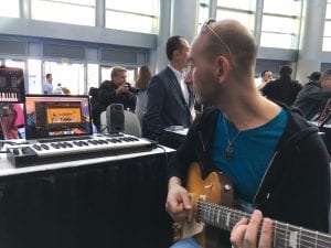 Fender Acoustic 200 Amp at NAMM 2017