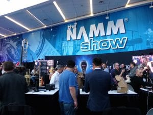 Ronnie Spector [band] Performance at NAMM 2017