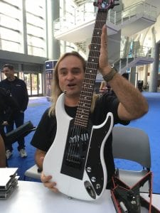 Somnium Guitars 3 at NAMM 2017