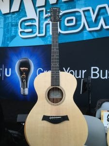 Taylor Guitars Academy 12 acoustic guitar at NAMM 2017