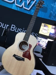 Taylor Guitars GS Mini-e Bass at NAMM 2017