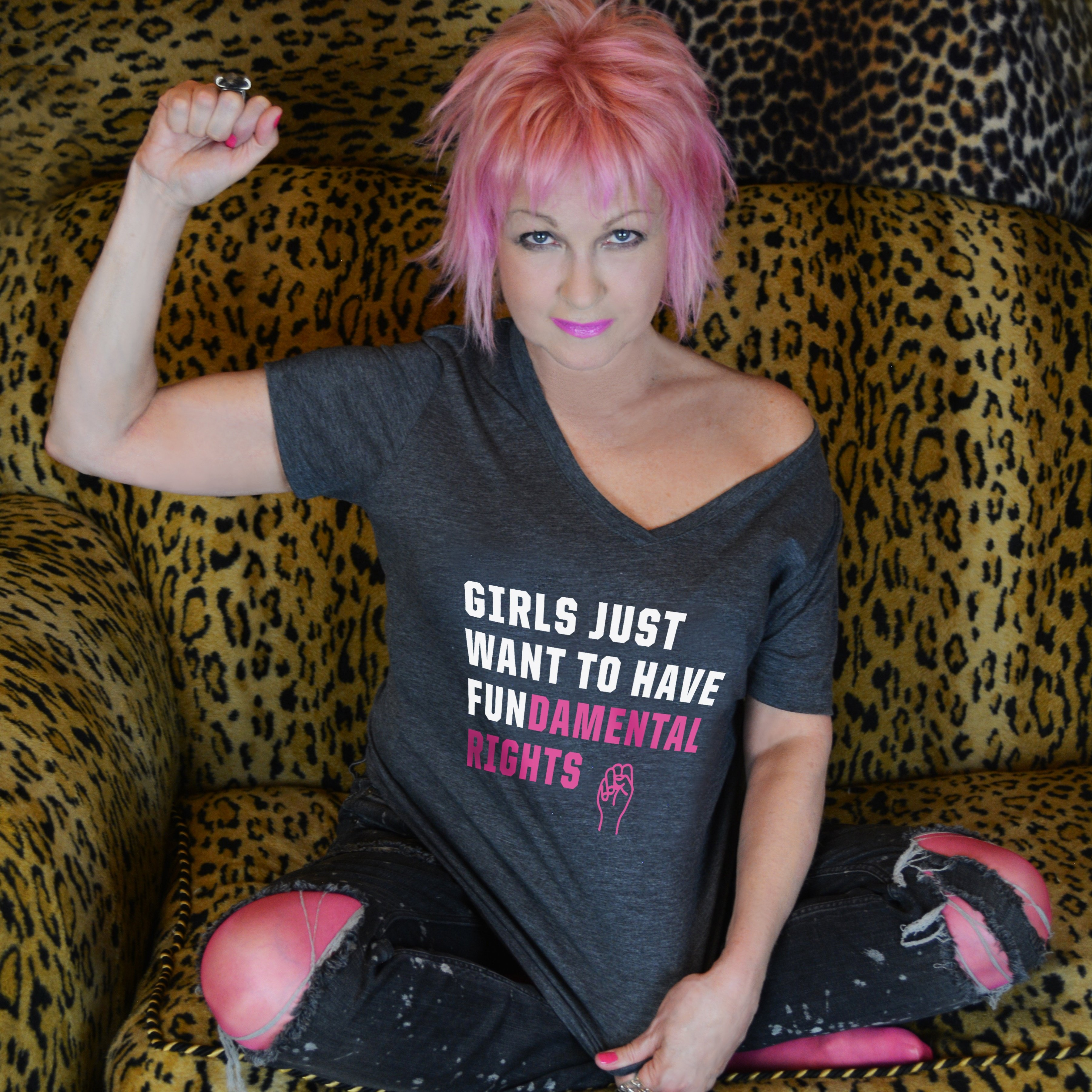 Girls Just Want To cyndi lauper partners with omaze to release official 'girls