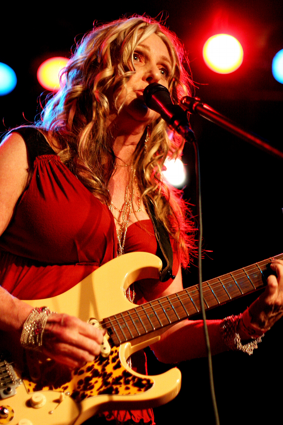 American Blues Singer And Guitarist Peach Discusses A Night In
