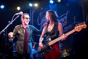 Graham Bonnet and Beth-Ami Heavenstone (Photo by Graham Hearn)