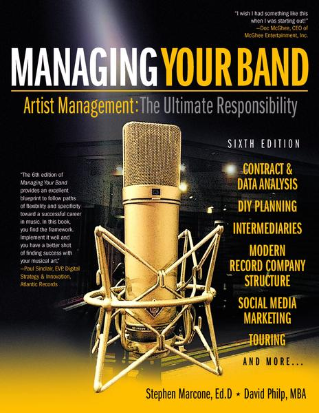 managing your band book cover