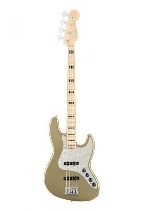 American Elite Jazz Bass MN Champagne, Front