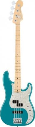 American Elite Precision Bass MN Ocean Turquoise, Front