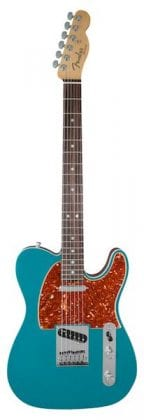 American Elite Telecaster EB Ocean Turquoise, Front