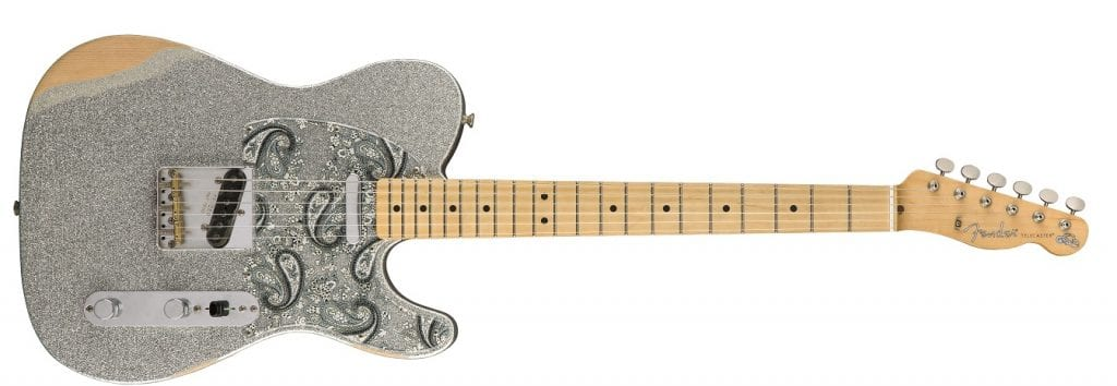 BRAD PAISLEY ROAD WORN TELECASTER FRONT