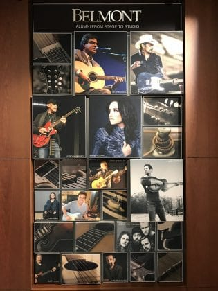 Belmont University Alumni from Stage to Studio