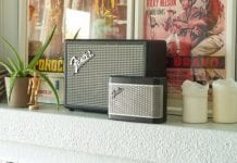 Fender Bluetooth Speakers promo shot