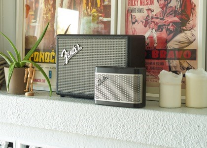 Fender Bluetooth Speakers promo shot