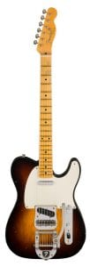 Fender Limited Edition Journeyman Relic Twisted Telecaster – Wide Fade 2-Color Sunburst Front