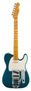 Fender Limited Edition Journeyman Twisted Telecaster – Aged Blue Sparkle Front