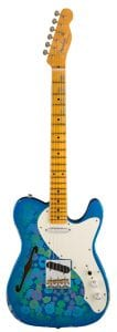 Fender Limited Edition Relic '50s Thinline Telecaster – Blue Flower Front