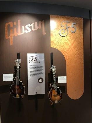 Gibson F-5 Mandolins at GIG