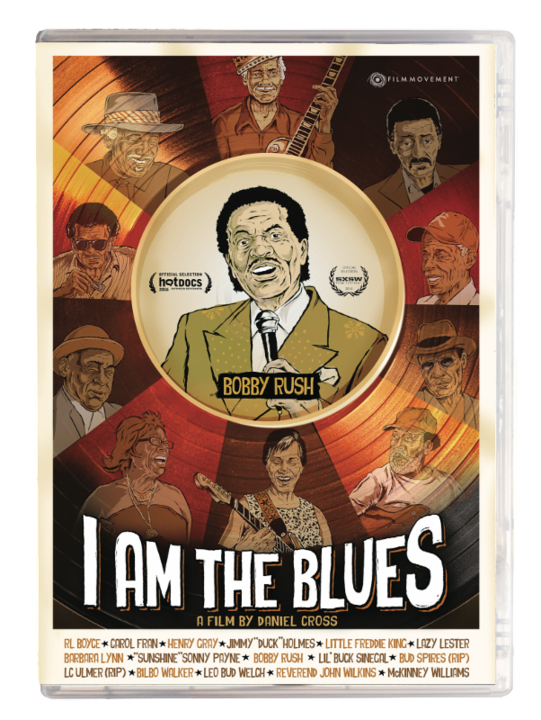 I Am The Blues DVD Cover