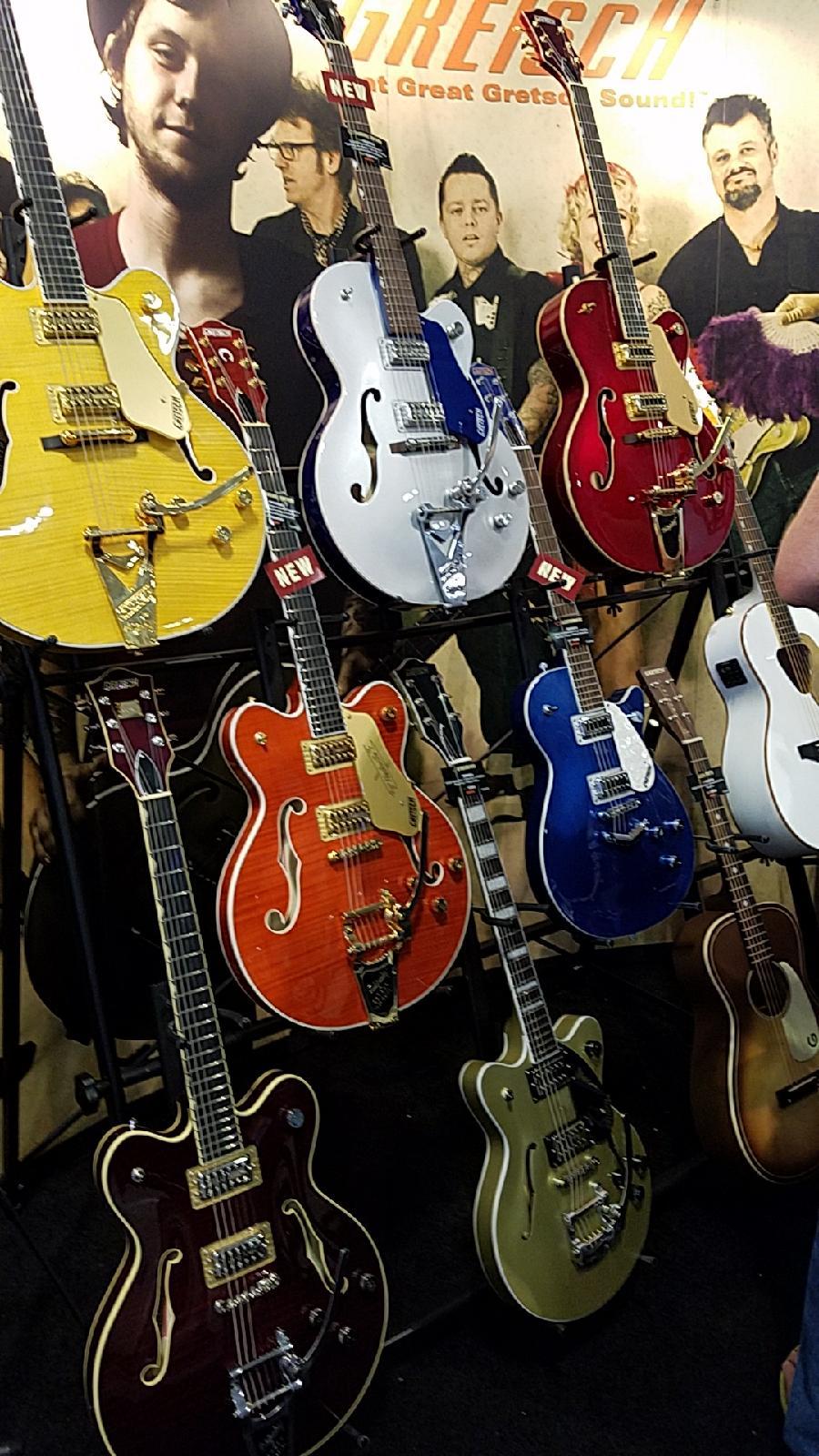 Gretsch Guitars Display Summer NAMM 2017
