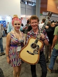 Sasha Vallely and C.F. Martin IV at Summer NAMM 2017