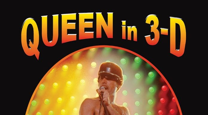 Queen in 3D book cover