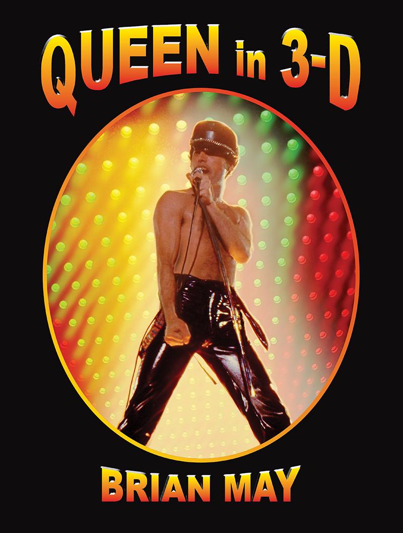 Queen in 3D book cover