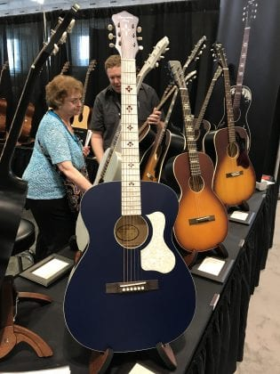The Music Link Booth SNAMM2017 1