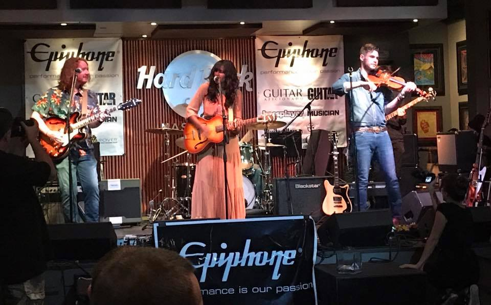 Tristan McIntosh at Epiphone Party - SummerNAMM2017