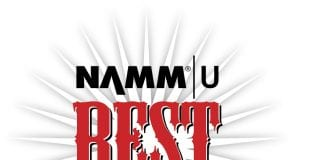 Best in Show Summer NAMM 2017 logo