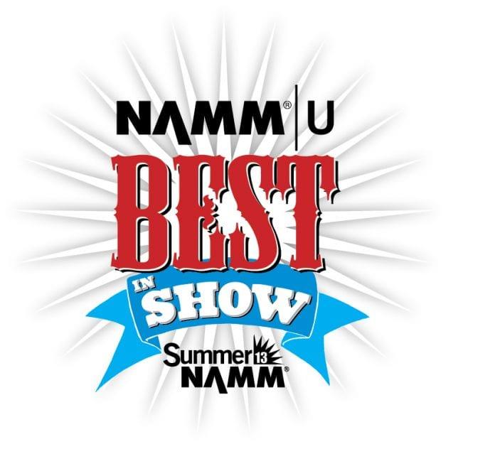 Best in Show Summer NAMM 2017 logo