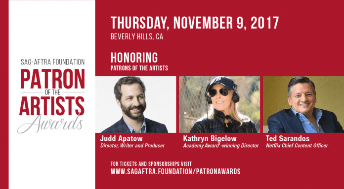 2017 Sag-Aftra Foundation Patron of the Artists Awards