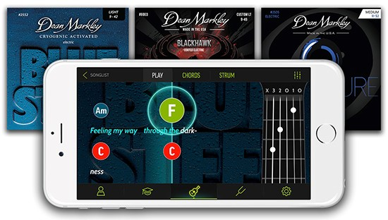 Dean Markley Teams Up with FourChords Guitar Instruction App to Help ...