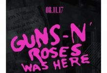 Guns N Roses Was Here Poster