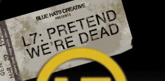 L7 Pretend We're Dead promo shot