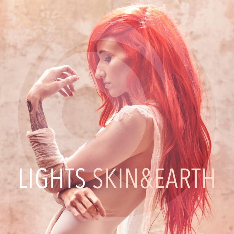 Lights Skin & Earth Album Cover
