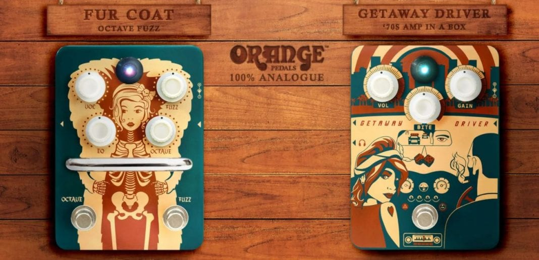Orange Amps Pedal Release