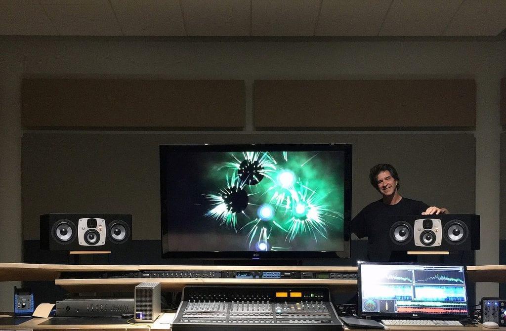 Randy Copus at Galactic Playground Music Studio