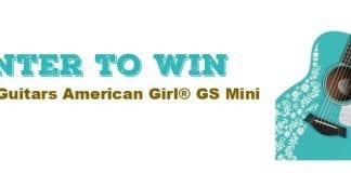Taylor Guitars American Girl GS Mini Acoustic Guitar Contest Banner 1