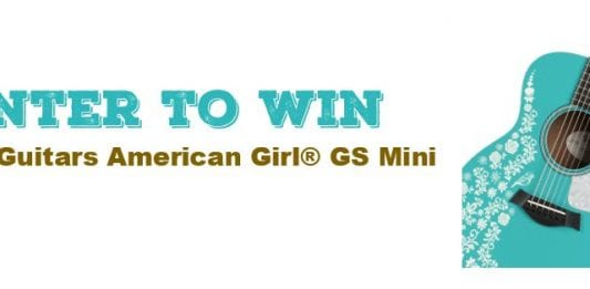 Taylor Guitars American Girl GS Mini Acoustic Guitar Contest Banner 1