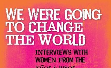 We Were Going to Change The World Book Cover