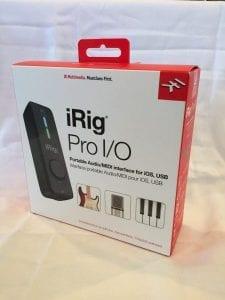 iRig Pro I/O box