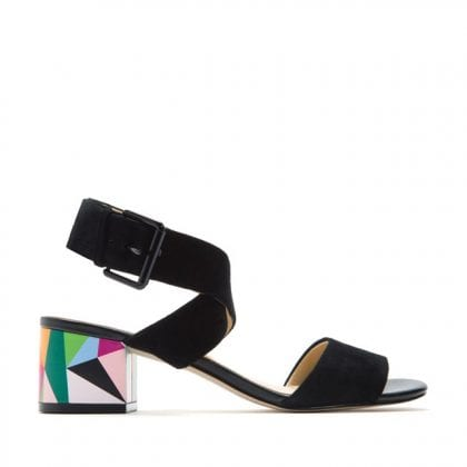 Katy Perry The Margot prismatic heel sandal