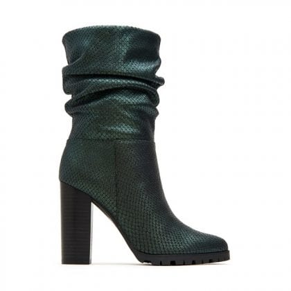 Katy Perry The Raina snake embossed boots