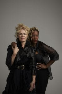 Nancy Wilson and Liv Warfield photo by Jeremy Danger