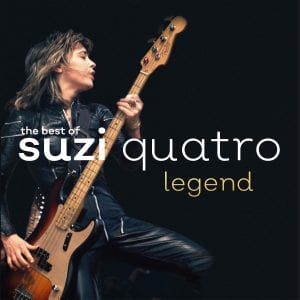 the best of suzi quatro legend cd cover