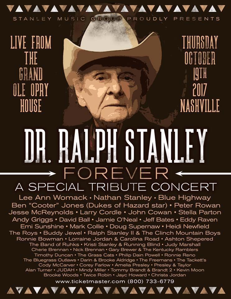 Dr Ralph Stalney Tribute poster
