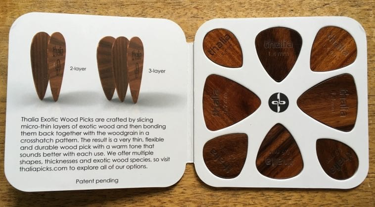 Thalia wood pick sampler pack
