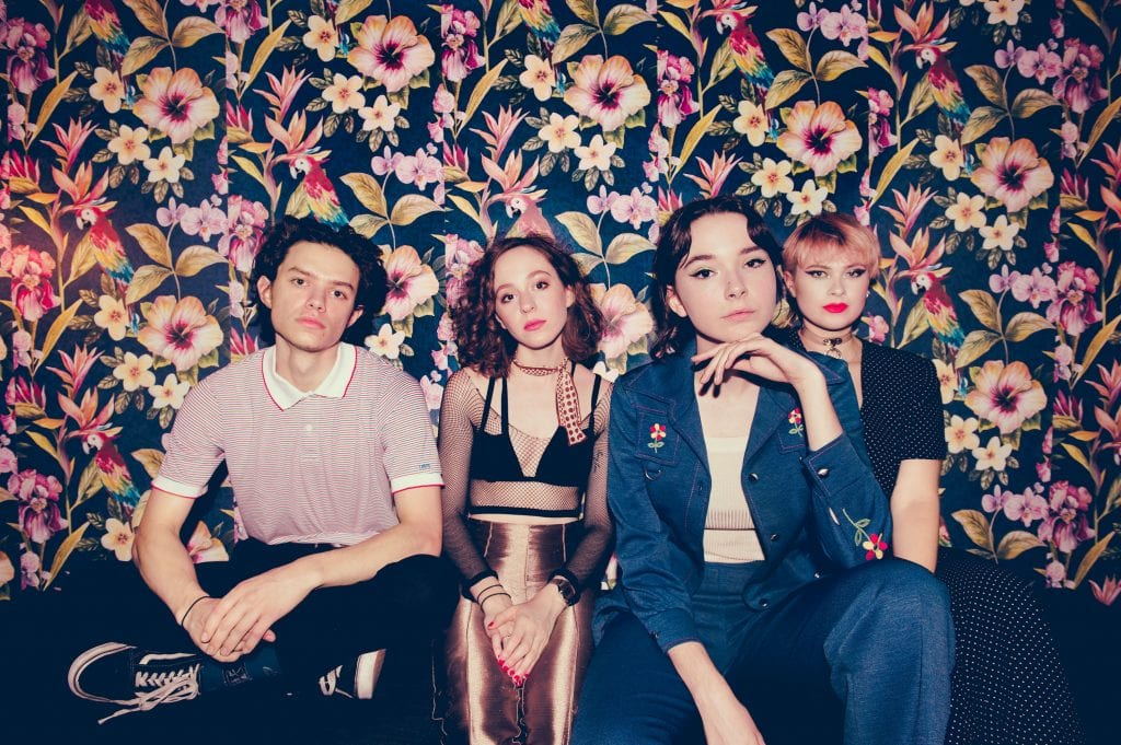 The Regrettes band promo shot