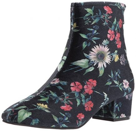 betsey johnson floral boots