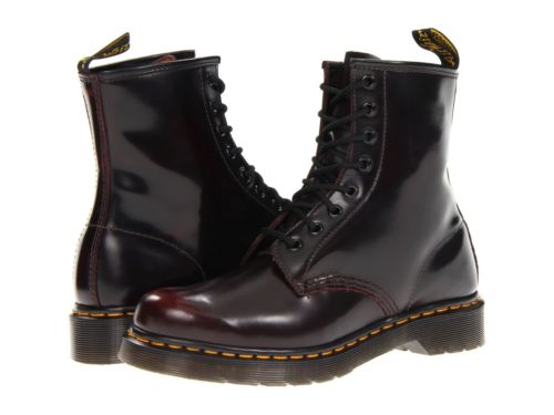 dr martens womens boots cherry red